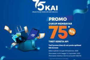 Promo Tiket HUT KAI ke-75 (foto: kai)