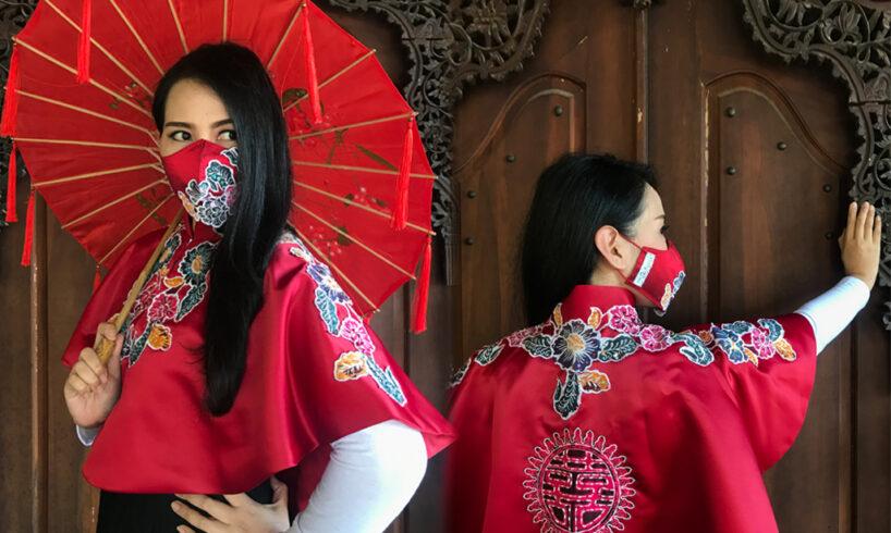 Cantik : Ragam masker fashionable karya Yusi Purwanti The Mantra