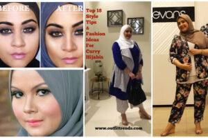 Fashion hijab agar terlihat langsing