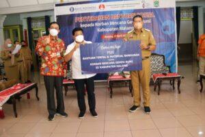 bantuan perbankan malang kepada korban gempa bumi