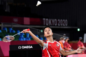 Kalahkan Wakil Denmark, Anthony Ginting Lolos ke Semifinal Olimpiade Tokyo 2020
